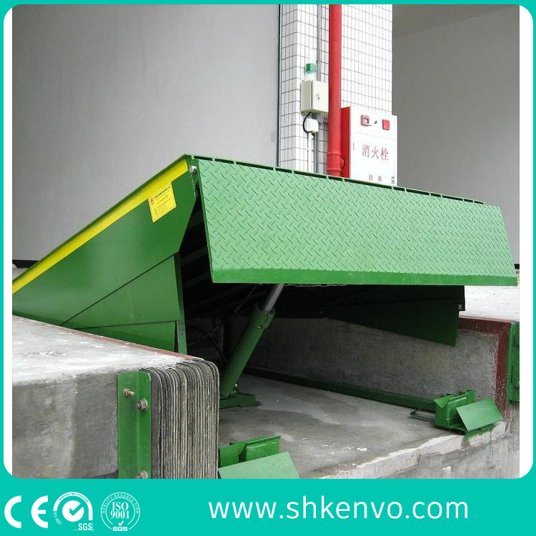Stationary Fixed Warehouse Hydraulic Truck Container Adjustable Loading Dock Leveler