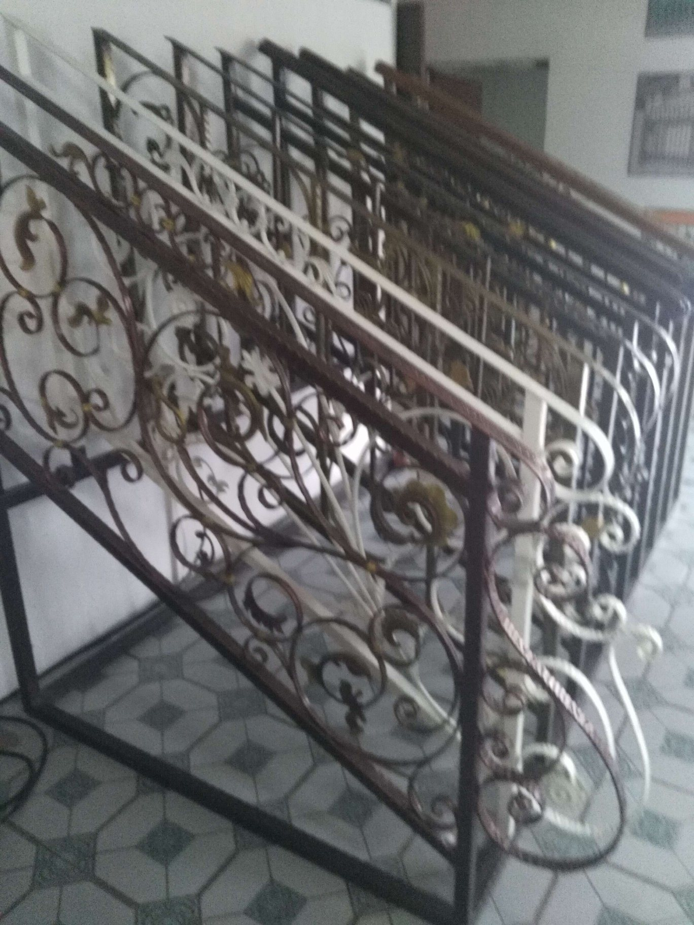 Decorative Wrought Iron Fence Design FF-006