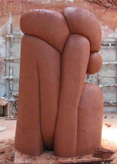 Abstract The Statue, Outdoor Garden Decorative Sculpture Pure Handmade