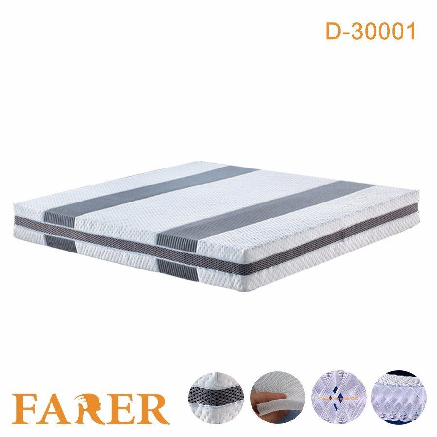 High Quality 3D Polyester Fiber Bed Mattress