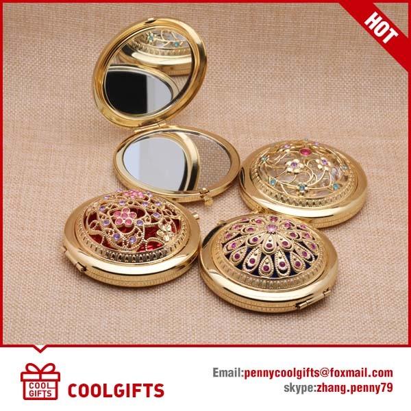 Customized Epoxy Sticker Cartoon Pocket Mirror