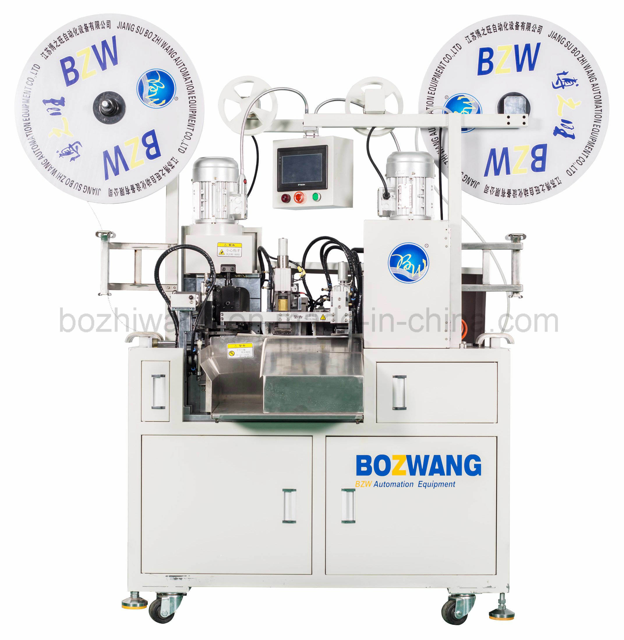 Automatic Ribbon Cable Terminal Crimping Machine