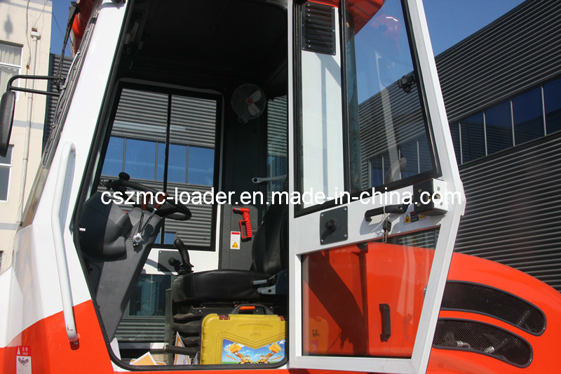 5500kg Lifting Capacity All Terrain Forklift with 4m Lifting Height