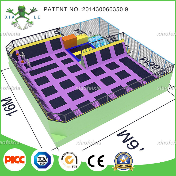 Xiaofeixia China Top Quality Custom Made Trampoline Park