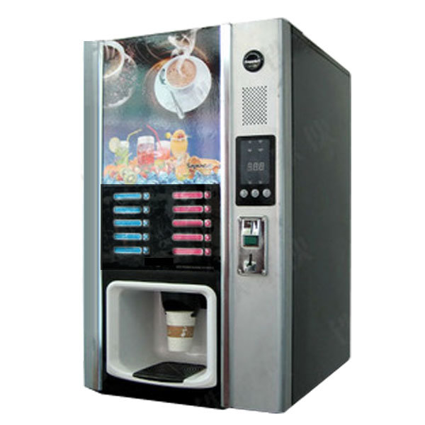 Commercial coffee vending machine for 5 hot and 5cold drinks