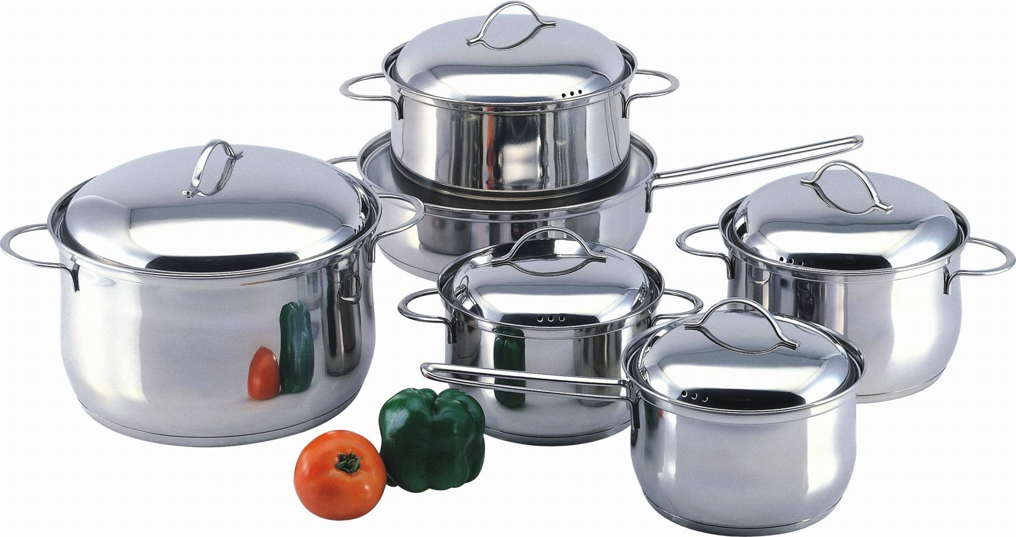 China cookware set sys1209 china pot stainless steel cookware set