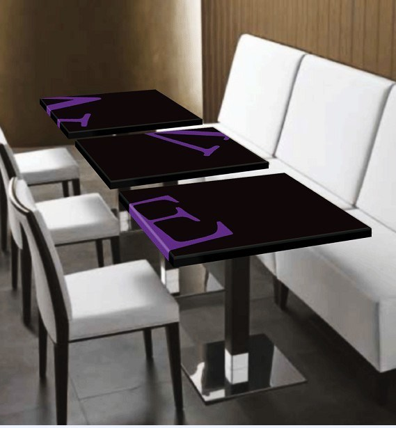 corian restaurant dining table cafe table carved dining table. Black Bedroom Furniture Sets. Home Design Ideas