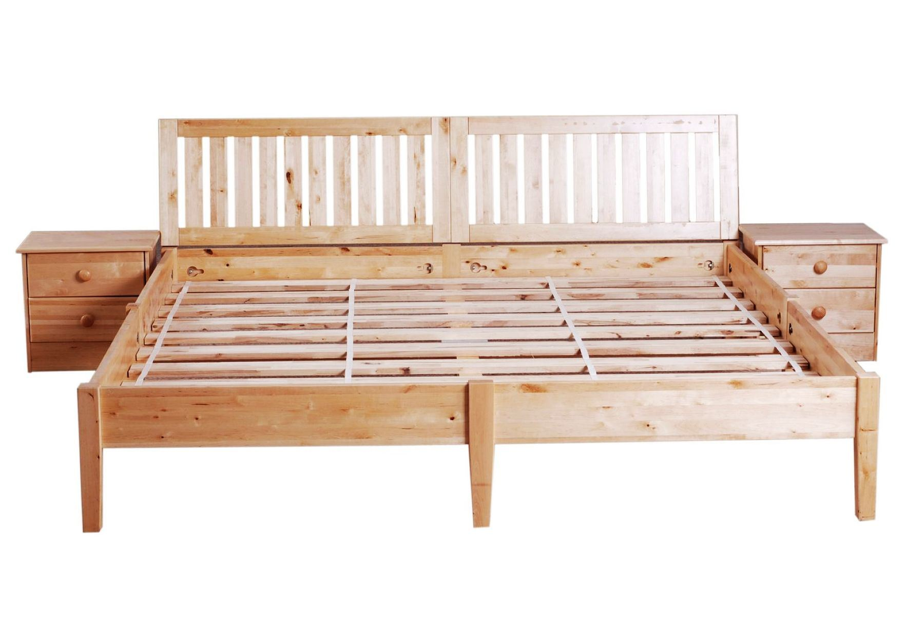 China Solid Wood Bed Frame Qa 001 Photos Amp Pictures
