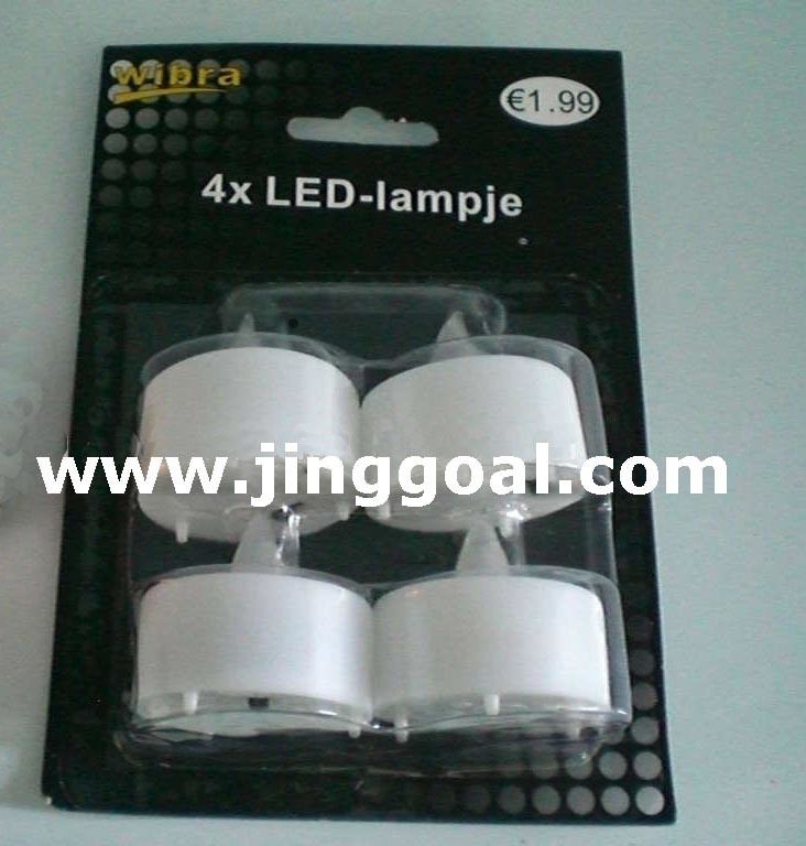 Blister Pack LED Candle (JE1025)
