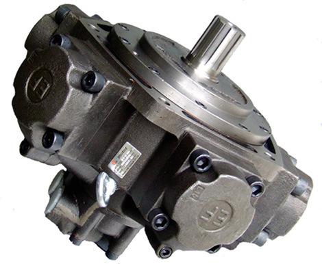 China Radial Piston Hydraulic Motor Yjmef2 Series