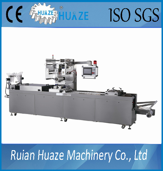 Automatic Thermoforming Supper Deep Cholate Beans Vacuum Map Packaging Machinery