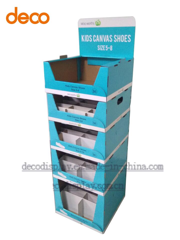 Cardboard Display Stand Paper Display Shelf Paper Counter Display