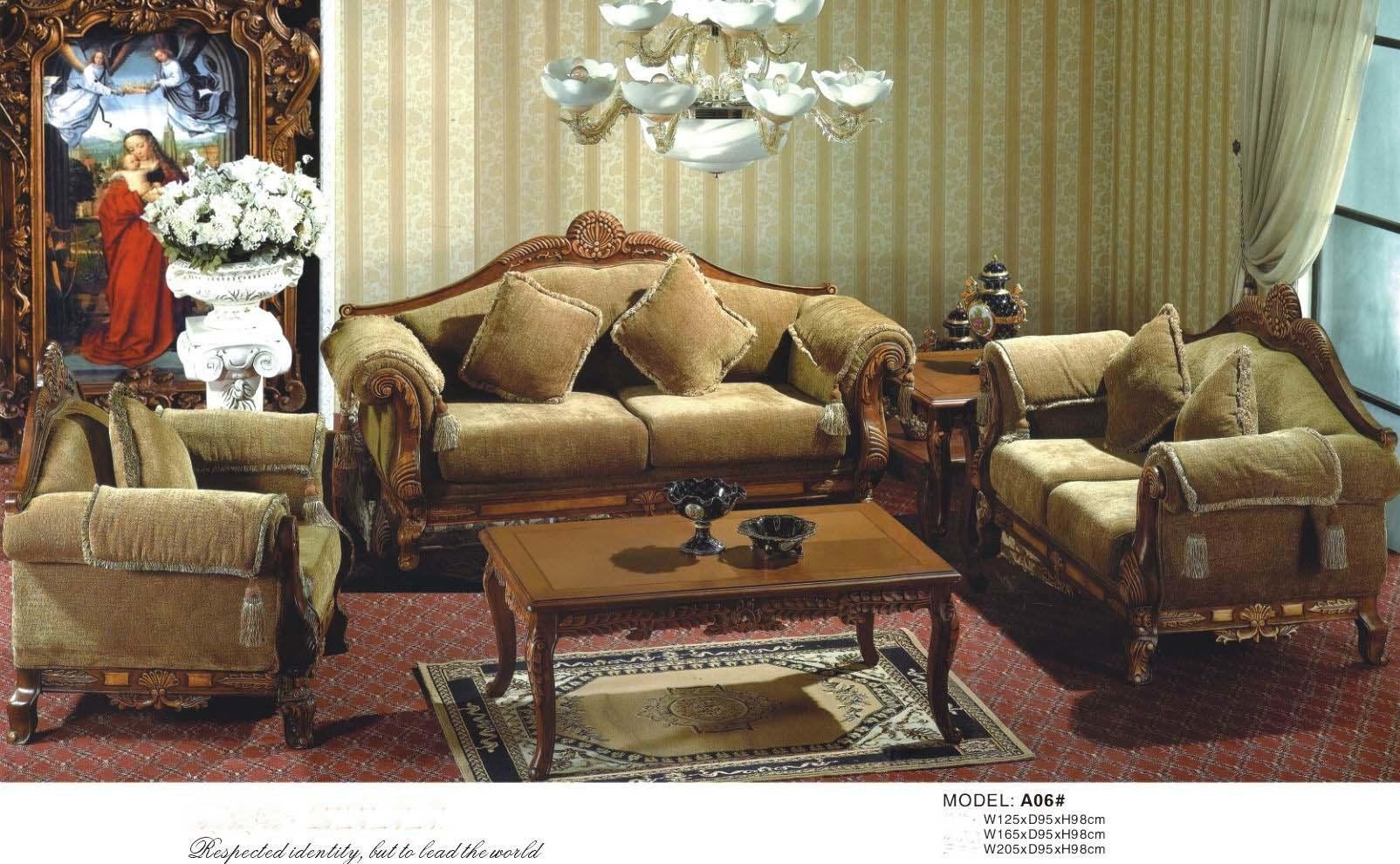 Living Room Furniture Europe Sofa A06 China Furniture Sofa Furniture