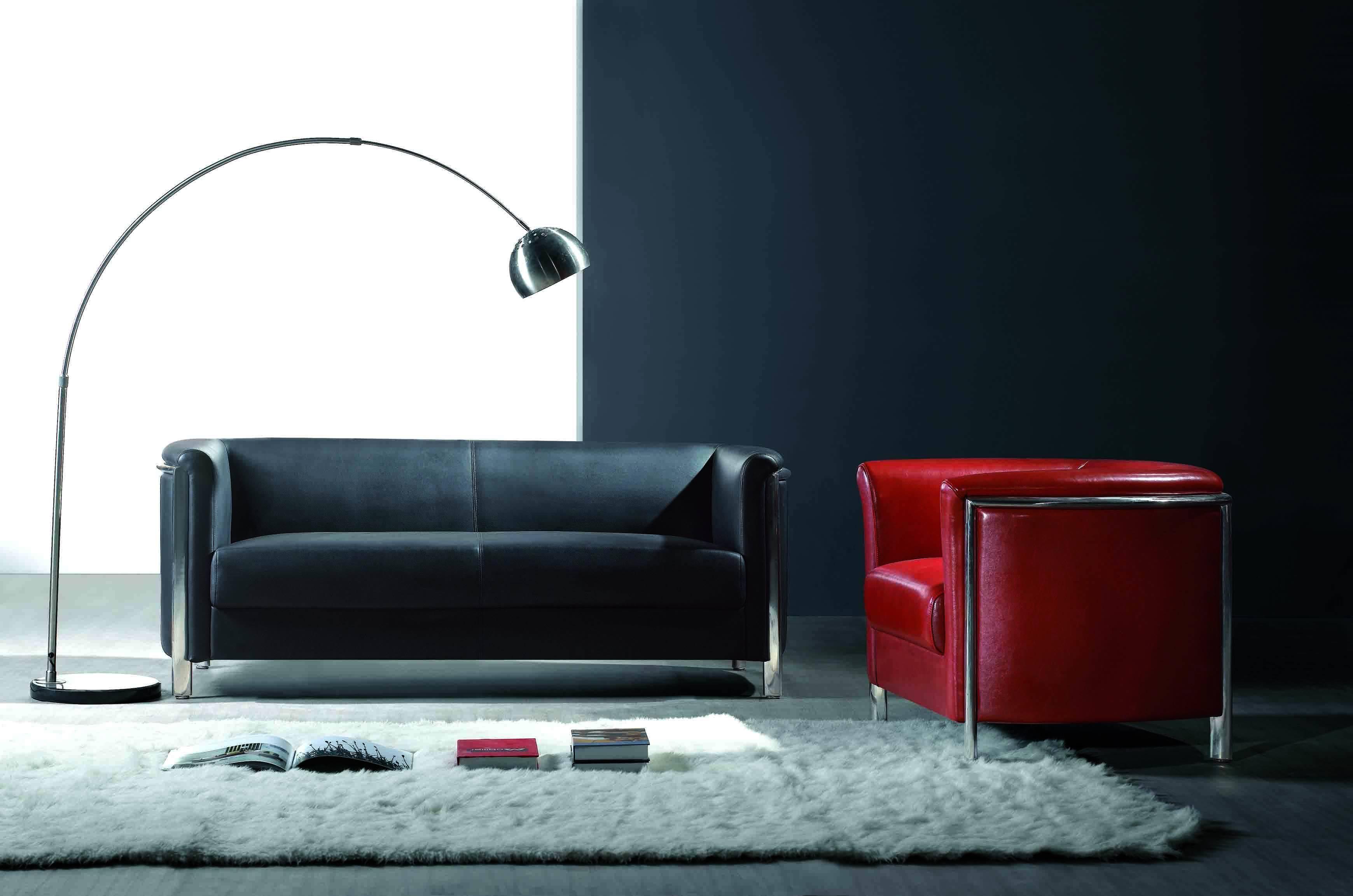 Suites de cuero italiano sof s sillones sof s muebles vida - Sillones de diseno italiano ...