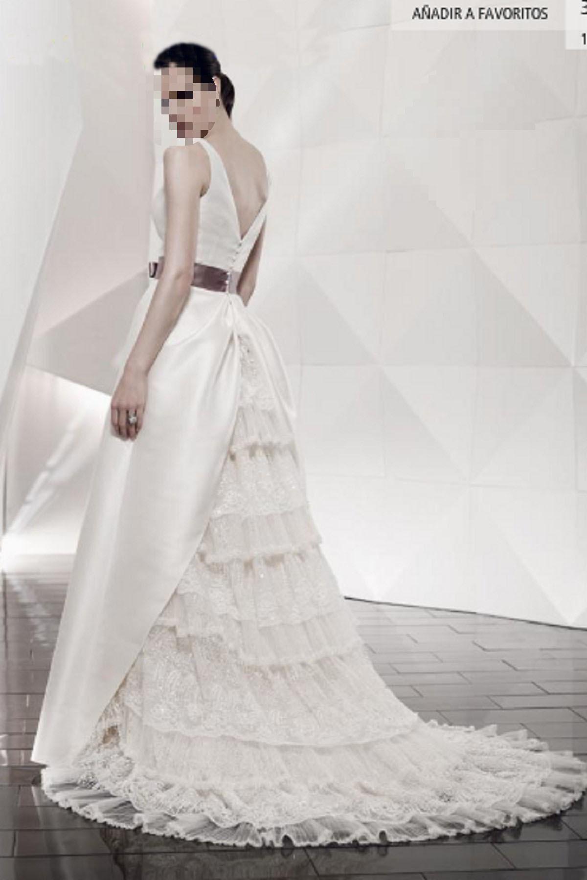 Wedding Dress Train Ideas : Wedding decoration dress train styles