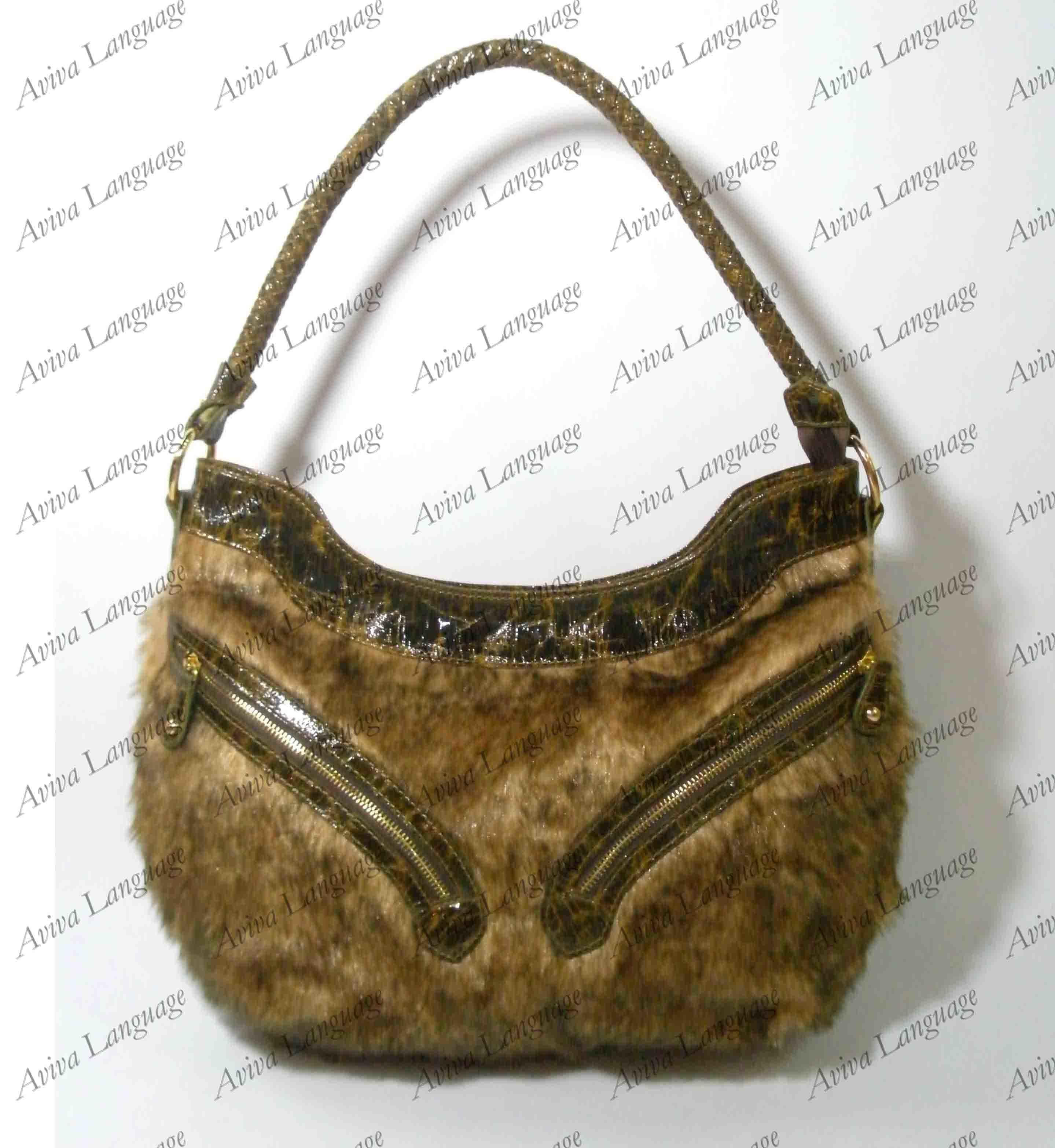 Fashion Handbag (LY109-01) - China Handbag,Designer Handbag,Fur