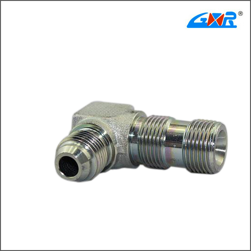90 Degree Elbow JIS Gas Male 60 Degree Cone/Bsp Male O-Ring Fitting (XC-1SG9-OG)