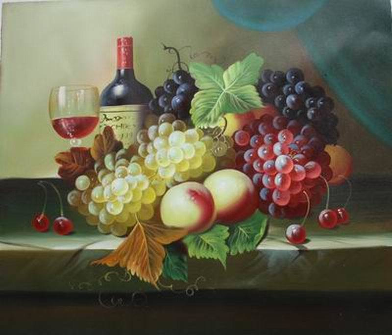 China Oil Painting Fruit