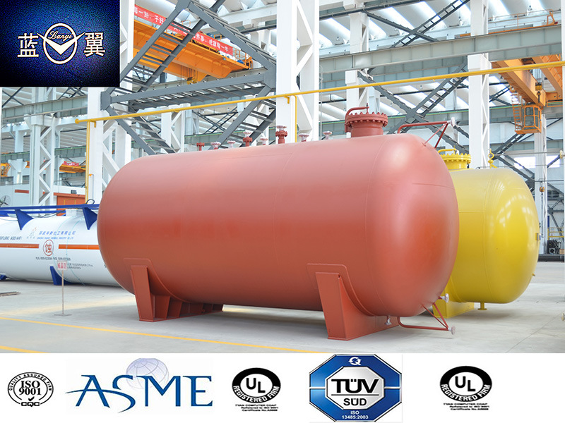 ASME Certified 24L 16mnr Arc Welding Tan Container