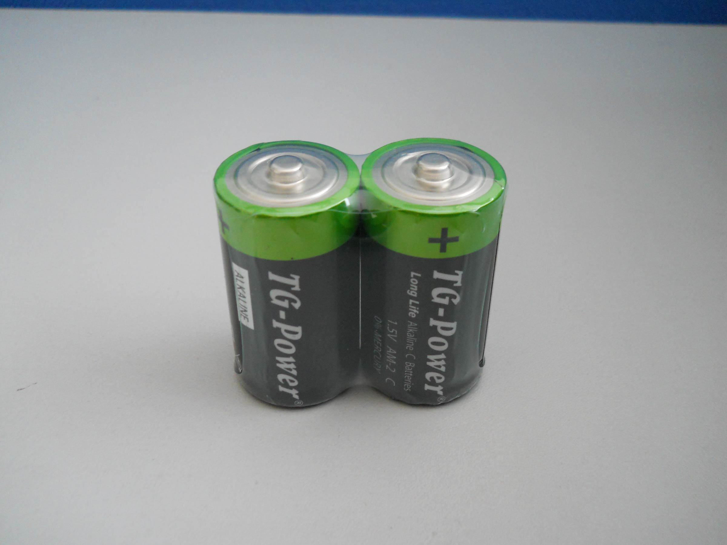 China 1.5V Battery Lr14/C Size - China Battery, Alkaline Battery