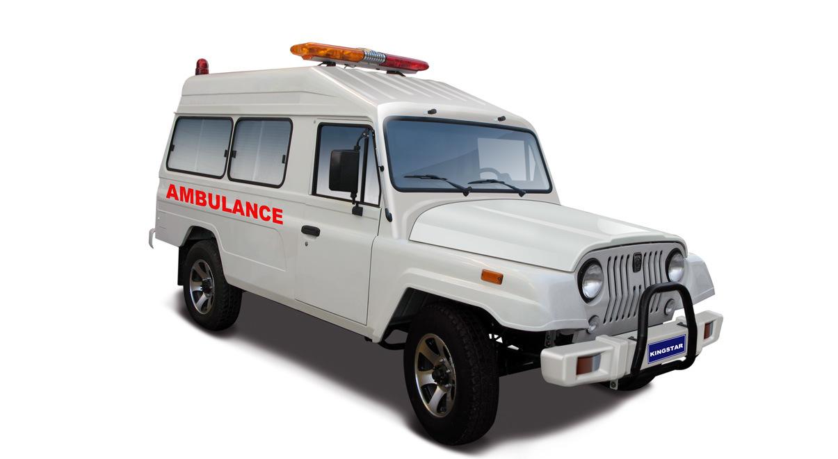 Kingstar Pluto Bz6 4WD Ambulance, 4X4 Ambulance