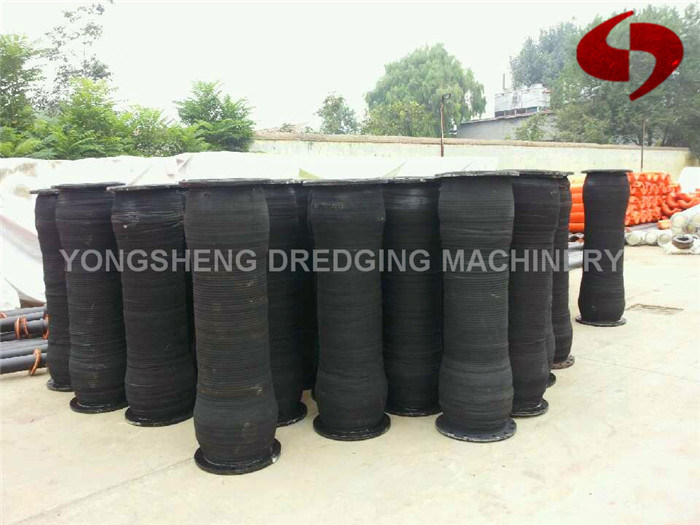 Rubber Hose with HDPE Pipe