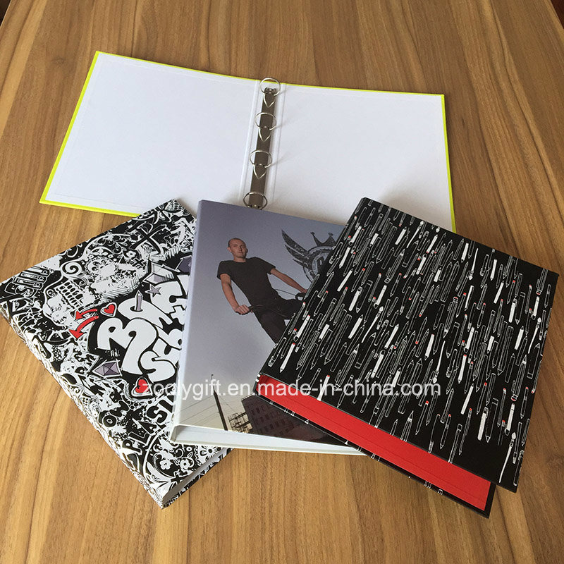 Wholesale Custom Brand Ring Binder Spiral Notebook Stationery Gift Sets