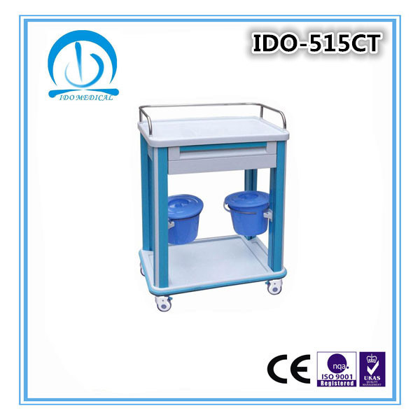 Ce ISO Approved ABS Dressing Trolley