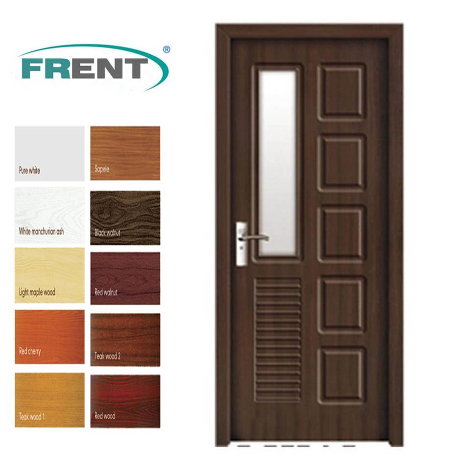 China 2013 Popular Interior New Design PVC HDF Door