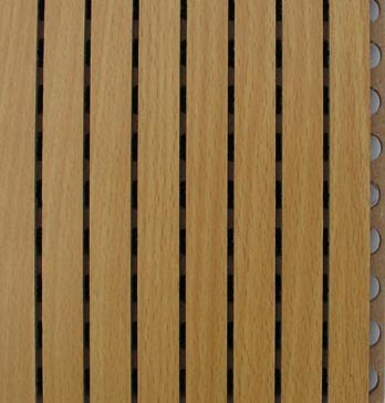 China Wood Grooved Acoustic Panel 14 2 Photos Amp Pictures