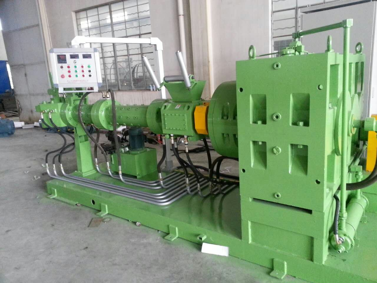 Xj-150L Plastic and Rubber Sheet Extruder Machine