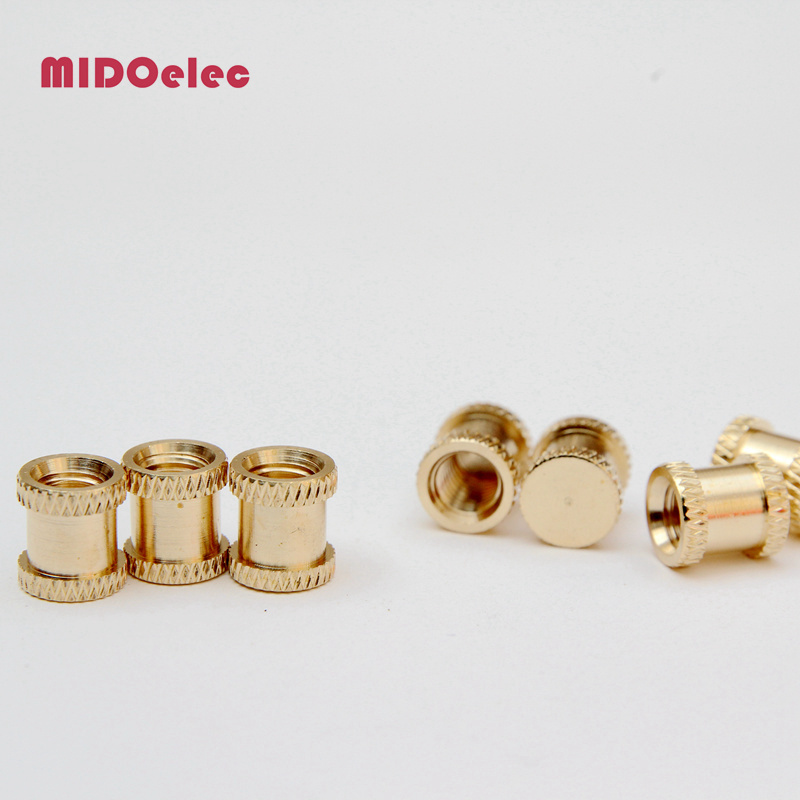 Male Female Fitting Brass Insert Nut for PVC Fitting