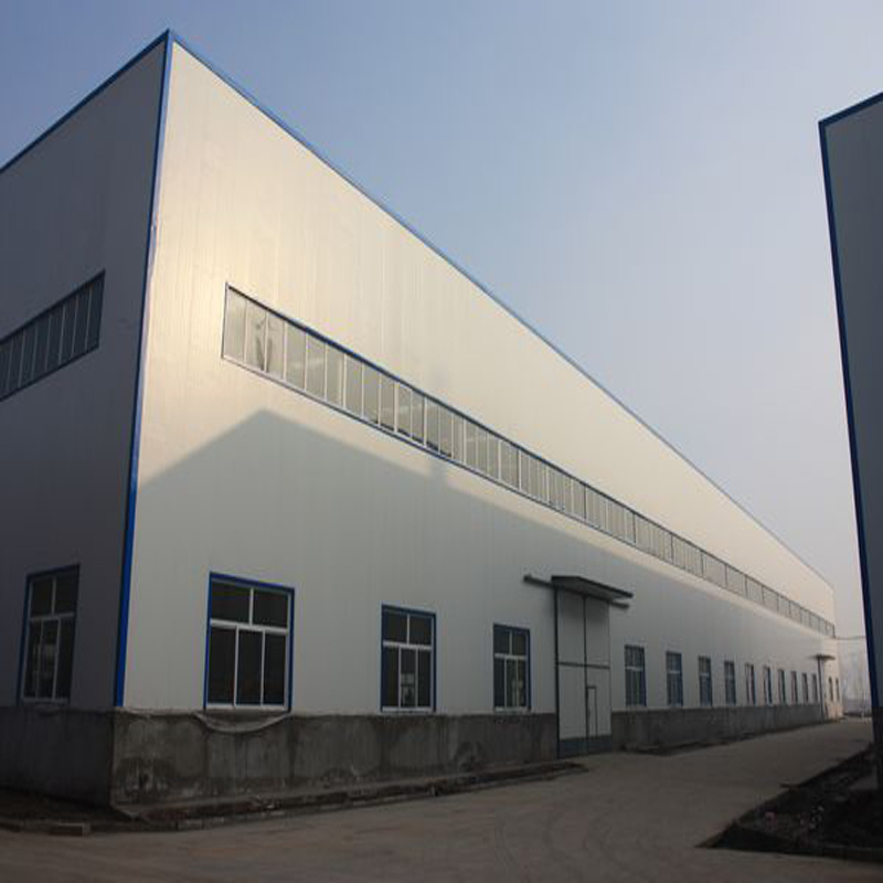 Portal Frame Light Steel Structure Warehouse Building with Best Floor Plan
