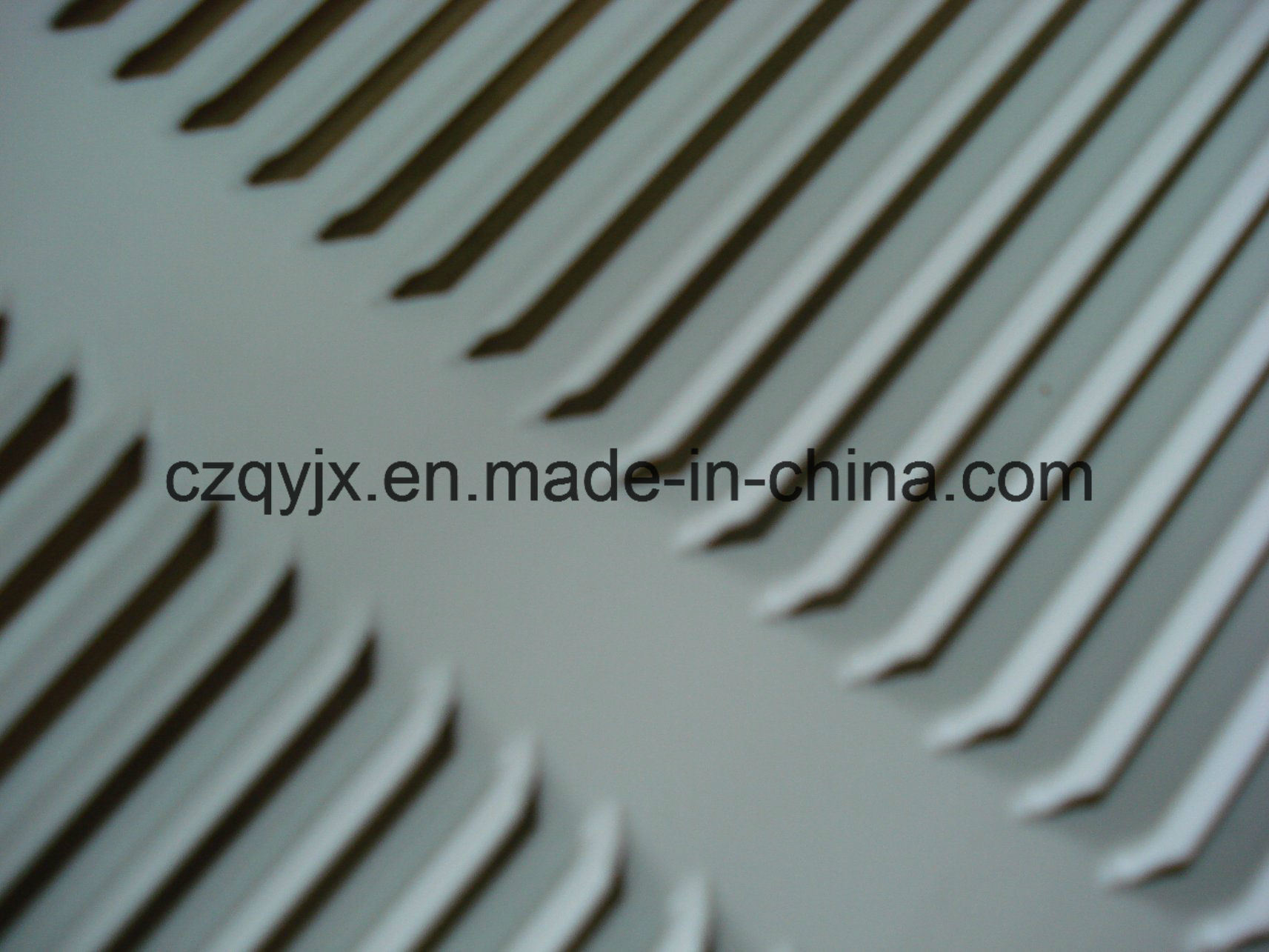 Heater Ventilation Louvered panel for Heater