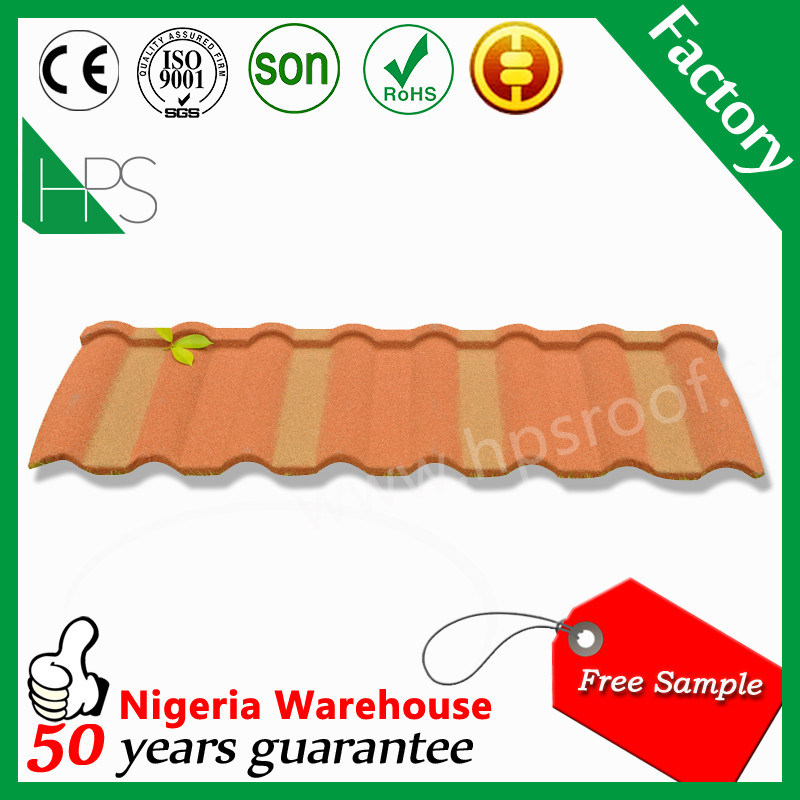 Africa Hot Sale Stone Coated Metal Roof Tile Rose Fish Scale Roof Tiles Factory Price