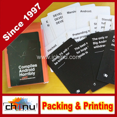 Hot Sale Custom Playing Cards Game Cards (431019)