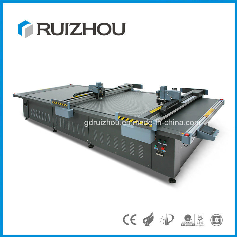 Ruizhou Digital Cutter for Leather Shoe Processing with Ce (RZCUT5-2516S)