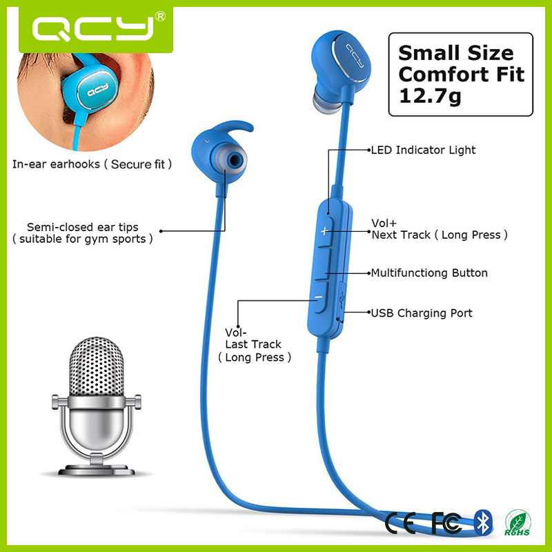 Android Wirelessmetal Earphones for Mobile Phones Bluetooth Headsets