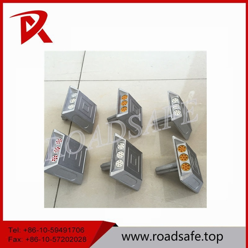 Safety 21 Beads Cat Eye Aluminum Road Reflector Reflecting Road Studs