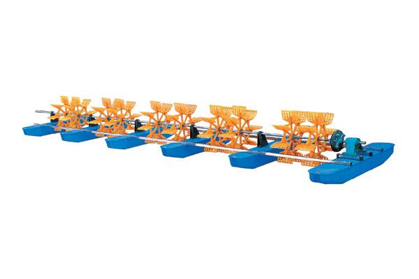 3HP 6 PCS Impellers Paddle Wheel Aerator