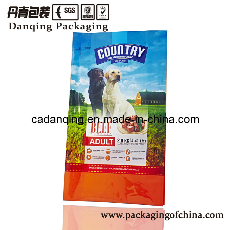 Plastic Packaging Lovely Pet Food Pouch