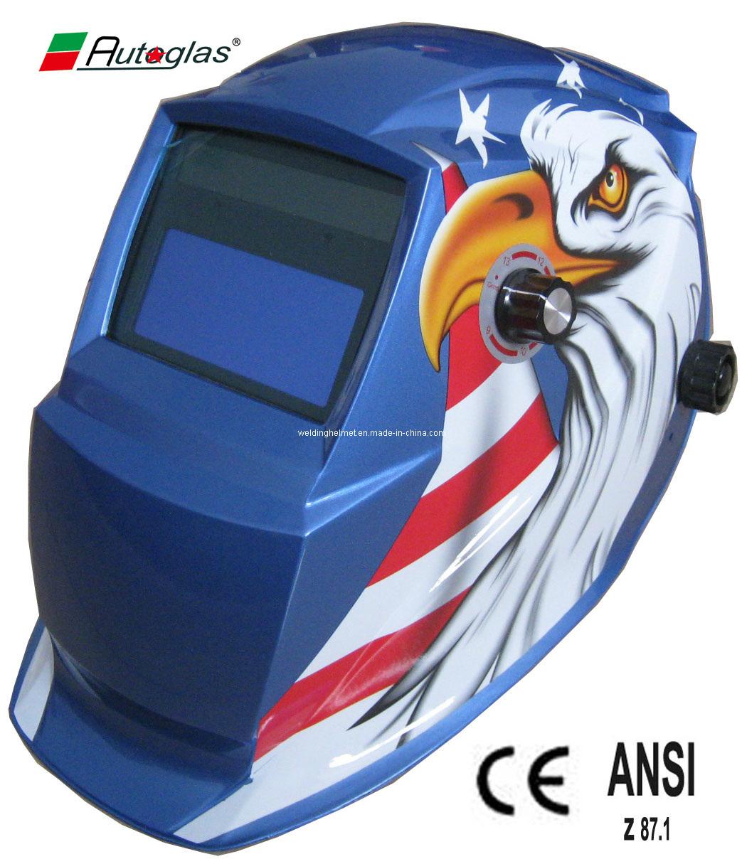 CE/ANSI, 9-13 Auto-Darkening Welding Helmet (F1190TE)