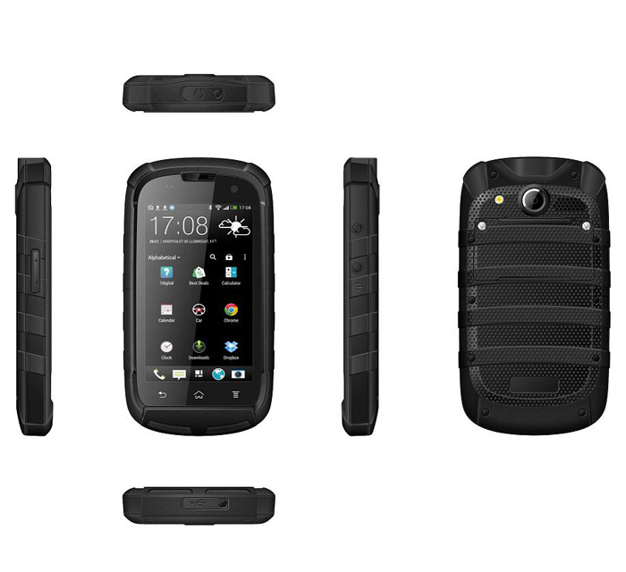 NFC Rugged Waterproof 3G Android Smartphone with Ce (W83)