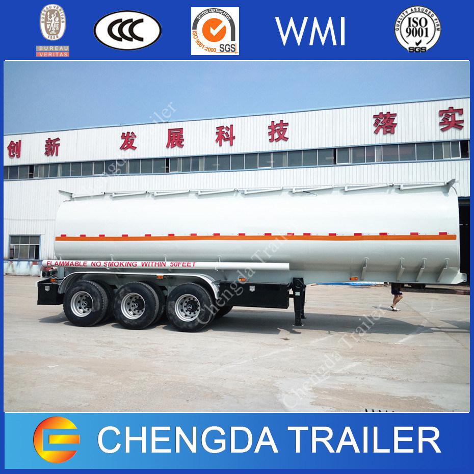 3 Axles Diesel Fuel Gasoline Petrolum Tanker 42000L 45000L Oil Tanker Trailers for Sale