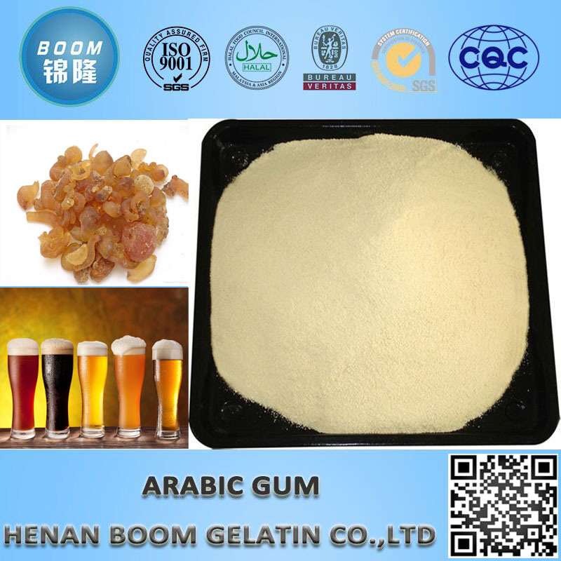 Lustering Agent Yellow Gum Arabic Powder