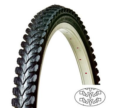 China Mountain Bike Tire 22X1.95 (50-456) in High Quality