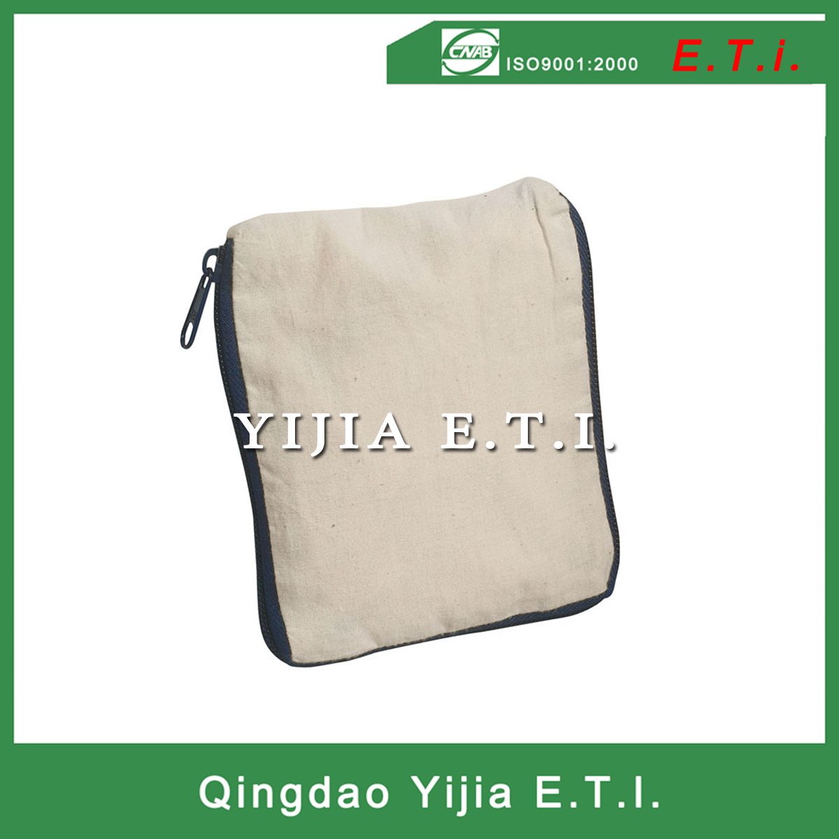 Eco Friendly Extralarge Cotton Foldable Tote Bag