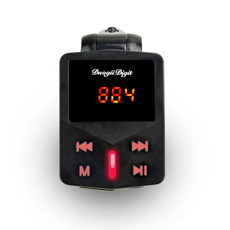 Car MP3 Players FM Transmitter The Keys with Light