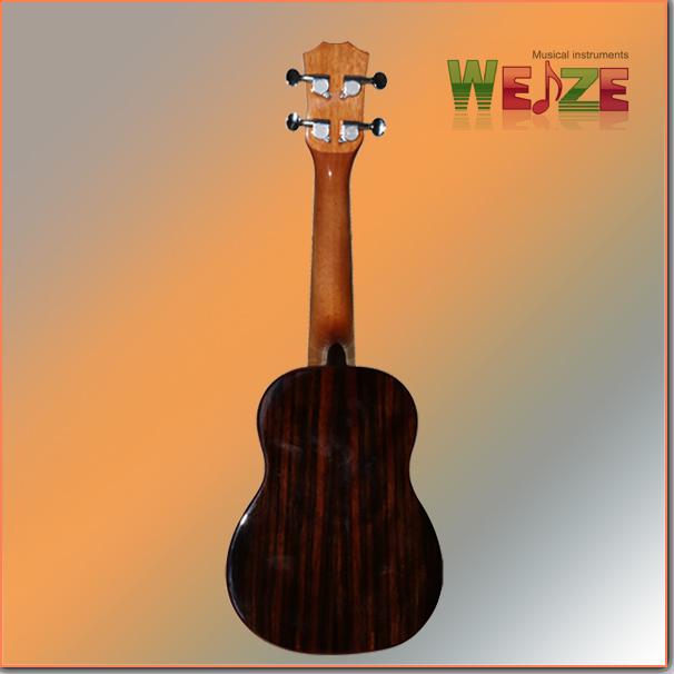 High Grade Black Wood Ukulele