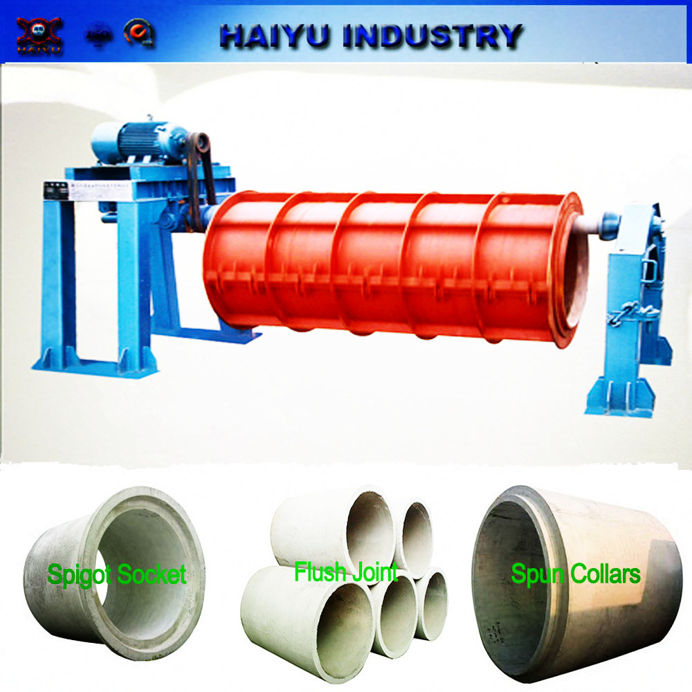 Drip Irrigation Suspension Roller Concrete Pipe Making Machine